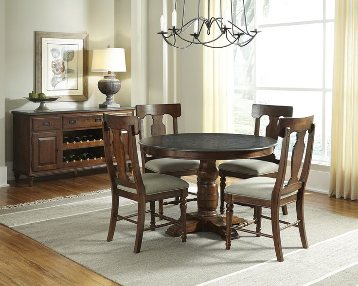 Shop For The AAmerica Andover Park 5 Piece Counter Height Set At Johnny Janosik