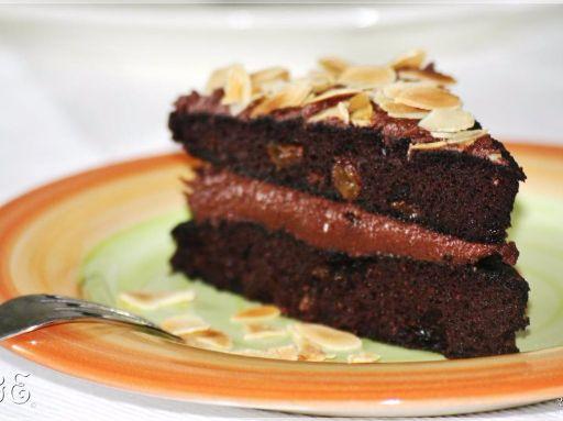 Csokoládékrémtorta - paleo