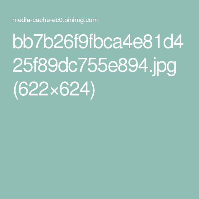 bb7b26f9fbca4e81d425f89dc755e894.jpg (622×624)