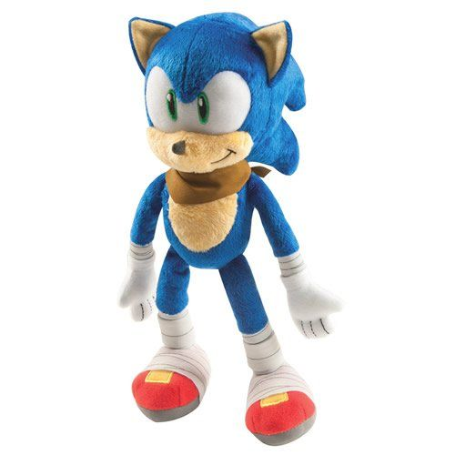 Sonic The Hedgehog Sonic Boom Sonic 12 Talking Plush @ niftywarehouse.com #NiftyWarehouse #Sonic #SonicTheHedgehog #Sega #VideoGames #Gaming