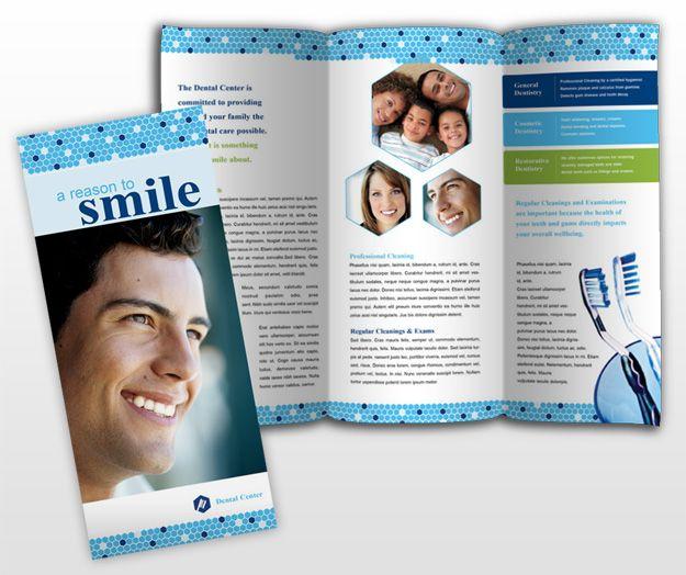 7 Best Dental Brochure Design Images On Pinterest Brochure Design