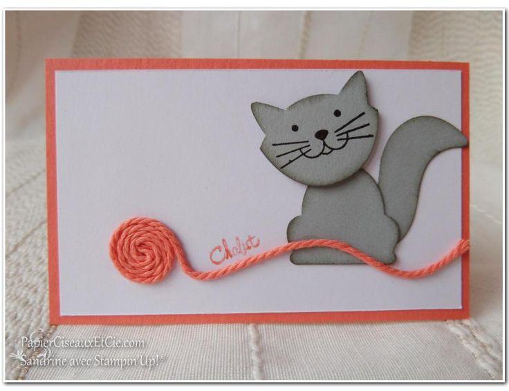 1 Foxy friends Chat Cat Swap swappons swappez papierciseauxetcie stampin up Sandrine Greusard