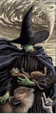 Elphaba Thropp from Wicked The Life and Times of the Wicked Witch of the West by Gregory Maguire