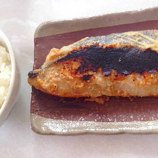 粕漬け大好きです。ほんのりとした旨味、ご飯によく合います〜(o˘◡˘o) - 33件のもぐもぐ - さわらの粕漬け焼き by chumura