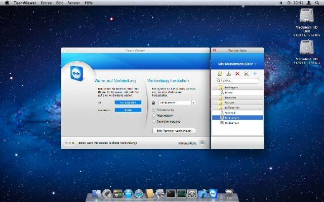 Das Apple-Betriebssystem OS X Mountain Lion hat für seinen MAC ein neues Teamviewer 7 Update bekommen. Die Online-Meeting- und Fernwartungs-Software garantiert auf einer überarbeiten Benutzeroberfläche eine schnelle und einfache Bedienung in mehr als 30 unterschiedlichen Sprachen.
