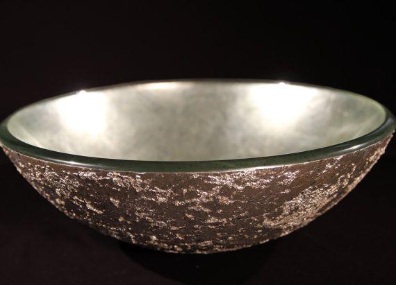 Antiqued Silver Vessel Sink By ArtisanSinks On Etsy