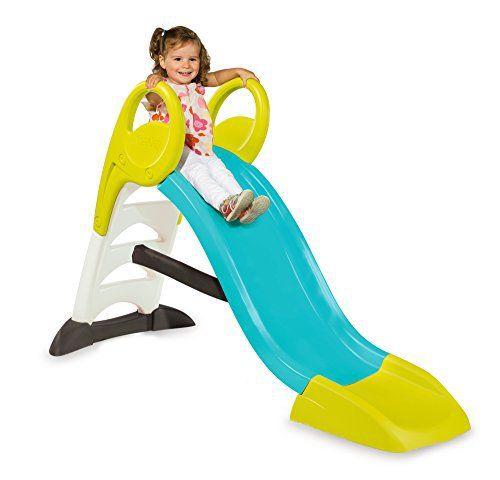 Smoby – 310269 – Mon Toboggan: SMOBY-Mon toboggan Smoby offre une glisse de 1.50m. Marches anti-dérapantes. Possibilité de brancher un…