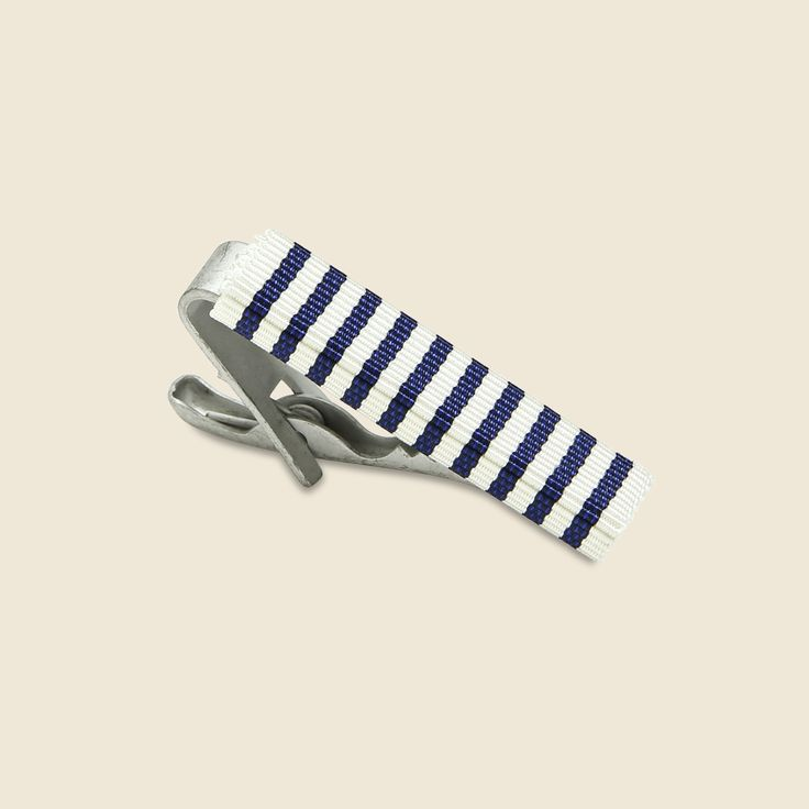 Tie Bar - Nautical Stripe