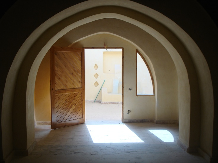 A house in FayoumWork, Vaulted, House, Fayoum, The Roller Coasters