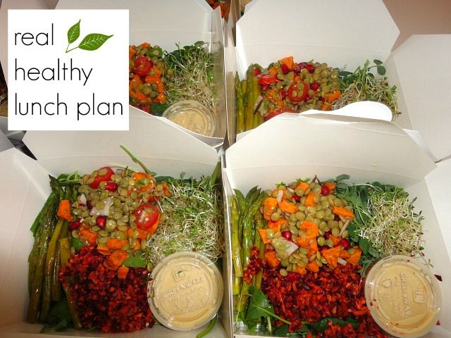 Making Real Healthy food accessible and affordable in downtown Toronto. Large salad box is $7!!