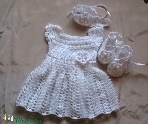 Horgolt baba ruha (anyuci14) - Meska.hu
