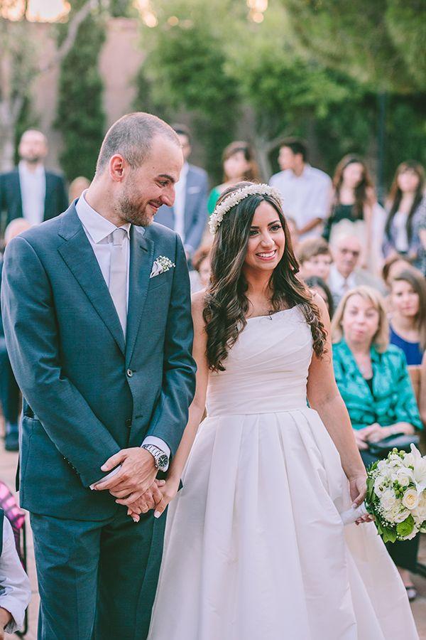 Beautful wedding in Athens, Greece