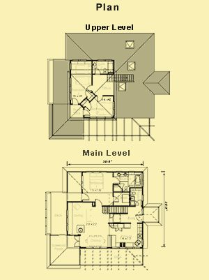 1647 sq. ft. Hillside House Plans For Sloping Lots and Small Lake House Plans