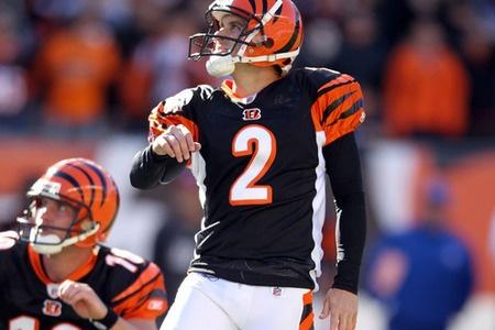 Mike Nugent - Cincinnati Bengals - K