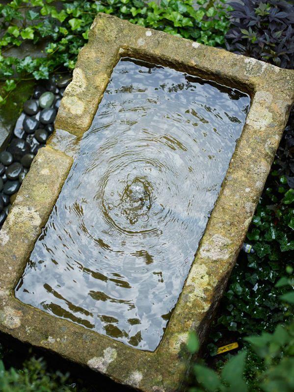157 best water features images on pinterest garden for Garden pond overflow design