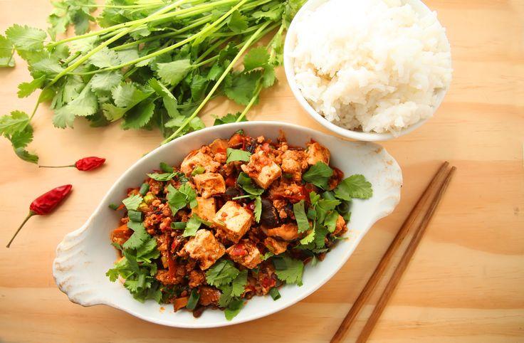 #Chinese #Mapo #tofu Authentiek Chinees gerecht