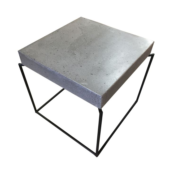 The modern and stylish Concrete Side Table A is a perfect piece to a contemporary home with its simple and clean lines design.