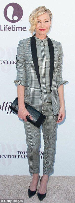 So so classy. (Portia de Rossi)