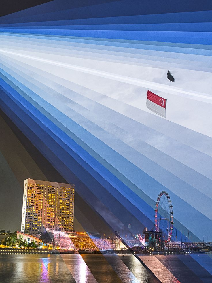 Photography by Fong Qi Wei / Sequences of one spot during the day