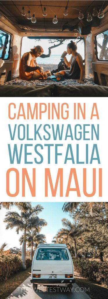 When you travel to Hawaii, make it a road trip across Maui in a Volkswagen Westfalia.