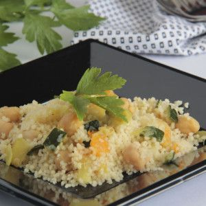 Vista previa del artículo Cuscús con vegetales y garbanzos