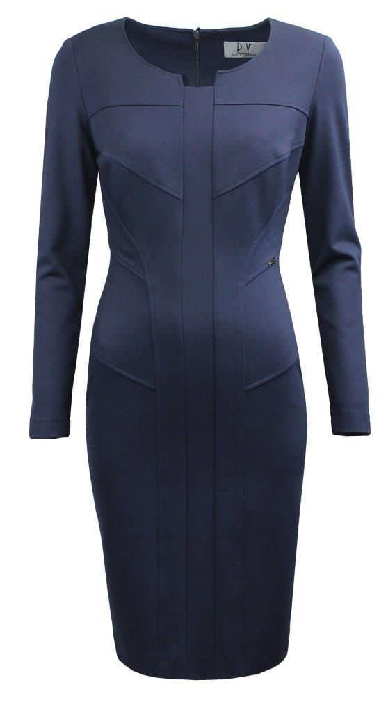 navy blue dress from our FW 2015/2016 collection