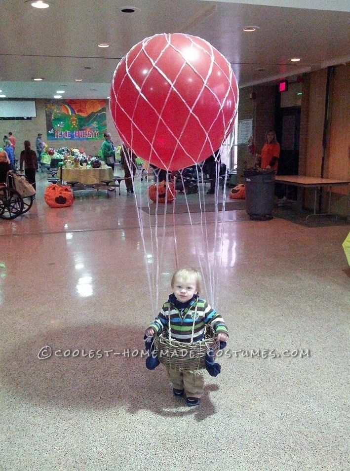 Cool Hot Air Balloon Halloween Costume for a Toddler ...