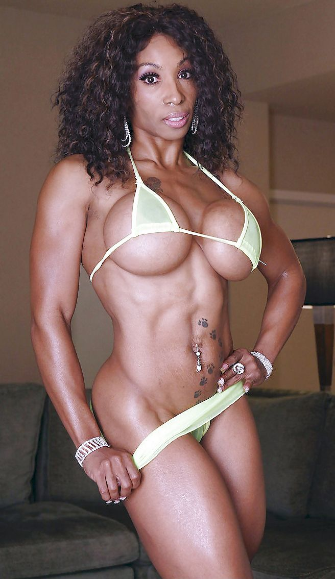 Fit Naked Black Women