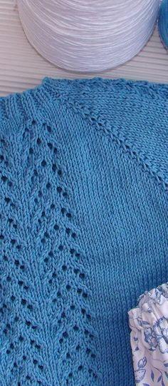 tutorial para hacer jersey de bebé con dibujo calado, lace baby cardigan,