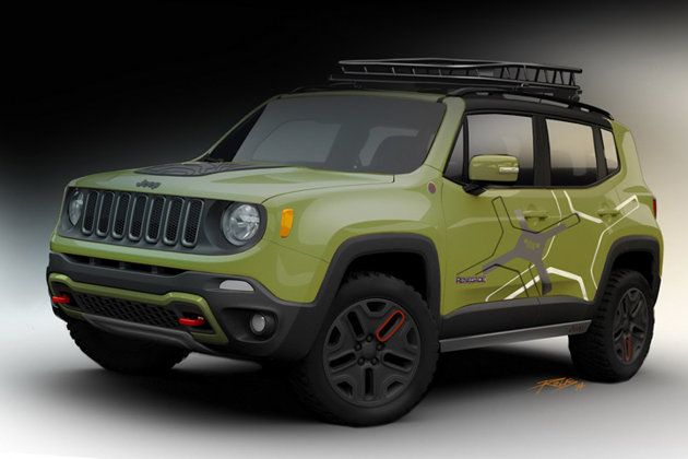 Flashy Mopar Jeep Renegades Ready For Detroit Debut Jipes Jipe