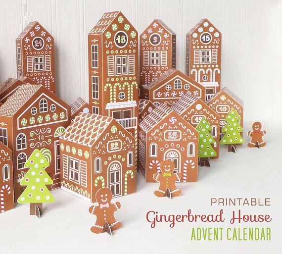 Advent Calendar Village Diy : Best christmas is coming images on pinterest