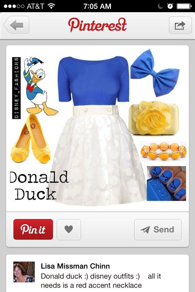 Easy Donald Duck costume