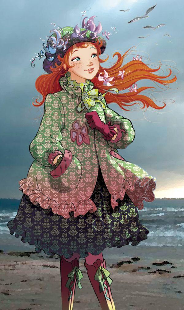 Fairy Oak-Vanilla Periwinkle | #ElisabettaGnone #libri #books #romanzo #novel #art #drawing #picture #sketch #draw #artist #illustration #pencil #reading #fable #fiaba