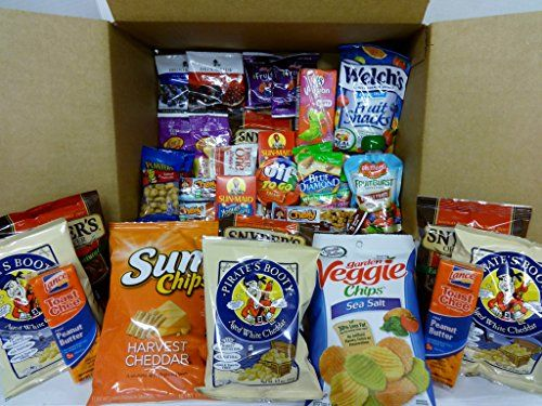 Healthy Snacks Gift Box, College Dorm, Breakroom, On the Go, Bundle Gift (45 Count) - http://mygourmetgifts.com/healthy-snacks-gift-box-college-dorm-breakroom-on-the-go-bundle-gift-45-count/