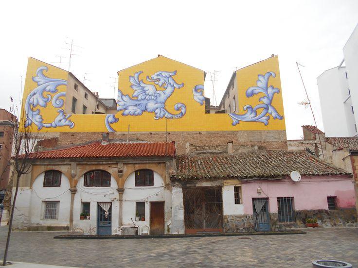 Mezcla de edificios de diferentes épocas.
