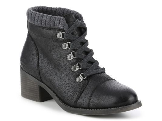 Women's Billabong Outer Limits Combat Boot - Black