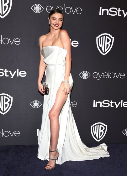 Golden Globes 2017 Dresses – Red Carpet Dresses & Outfits | British Vogue #mirandakerr