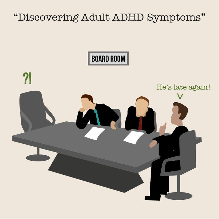 symptoms what adults adhd affect
