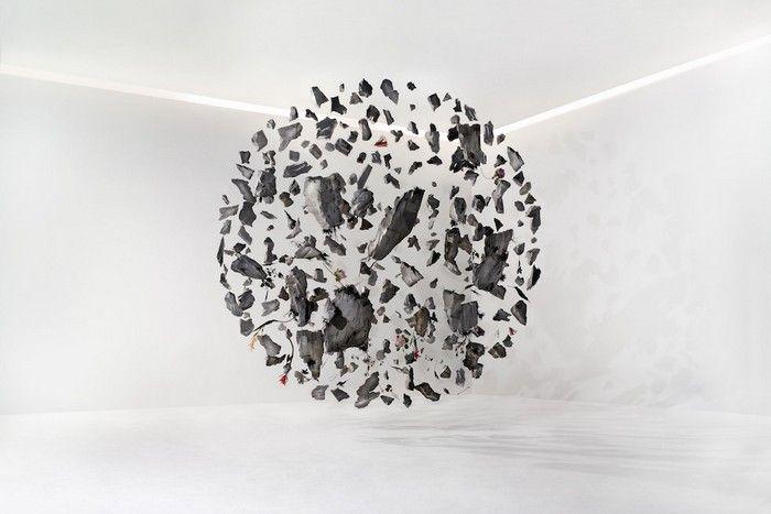 Contemporary art project: De Evolution I, II   III
