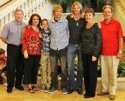 Davey T Hamilton with Family on Christmas 2011: Christmas 2011