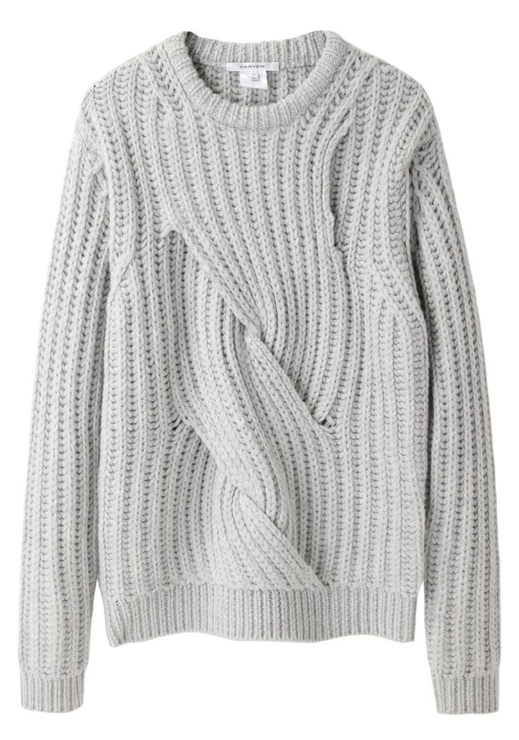 Twisted Knit Sweater by Carven