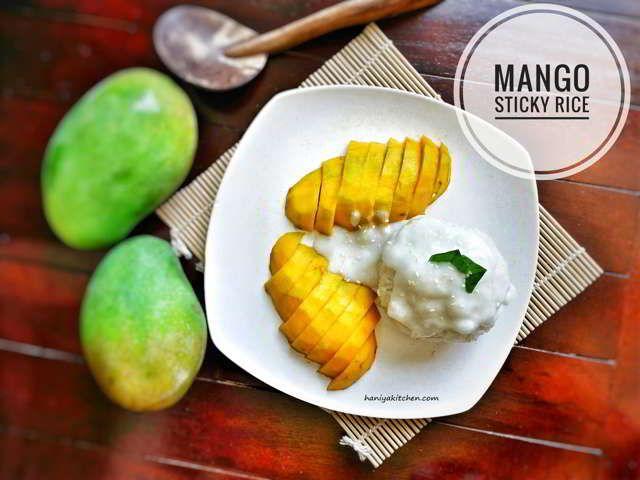 Resep Mango Sticky Rice Ketan Mangga Khas Thailand Resep Masakan Resep Makanan Makanan