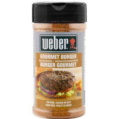 Weber 164g Gourmet Burger Seasoning Blend