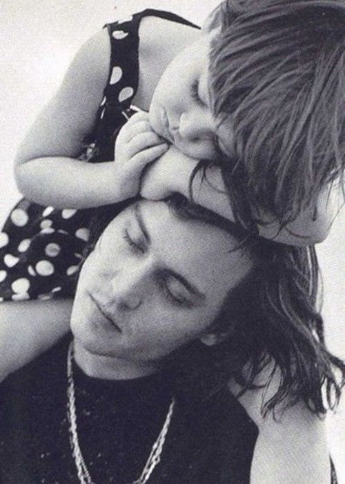 Like Papa , like daughter !!! - Johnny with Lily Rose Depp !!!