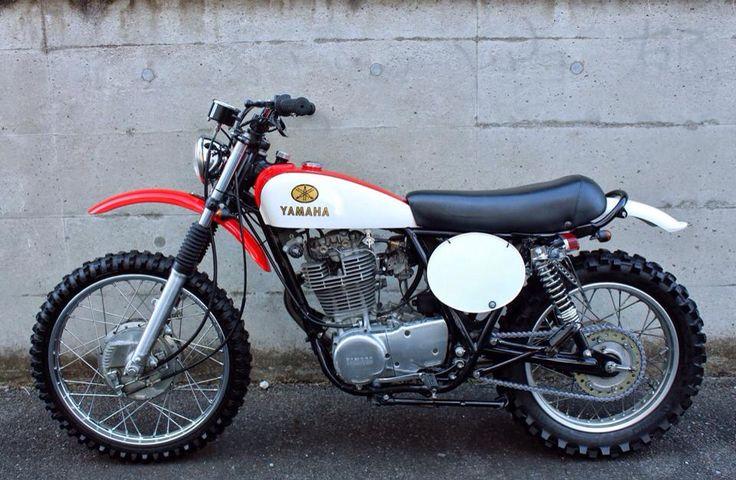 Vintage dirt bike plastic