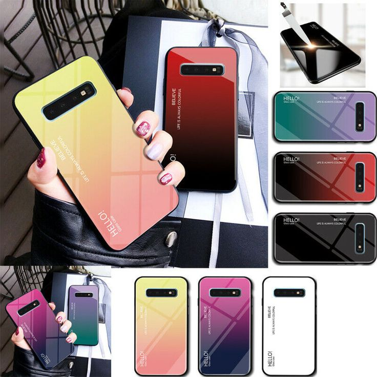 Details about luxury glass hard phone case cover for