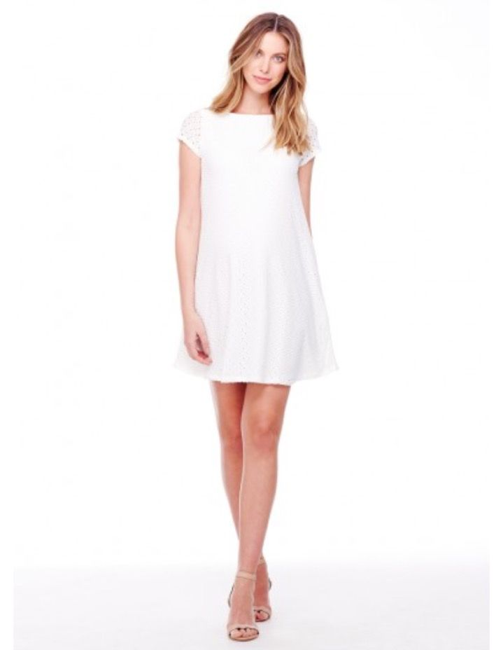find this pin and more on maternity style baby shower ingrid and isabel white lace dress