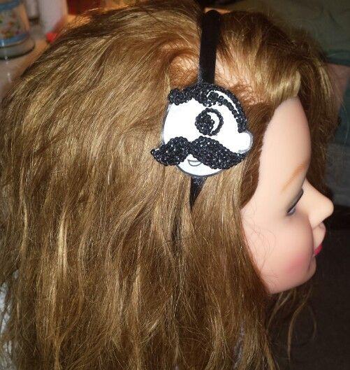 Natty boh headband headquase.com
