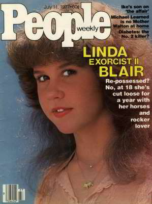 Linda blair born innocent shower
