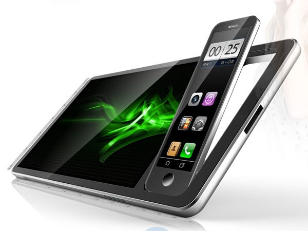 s.Max Tablet with Detachable Mobile Phone by Su Wen Yuan
